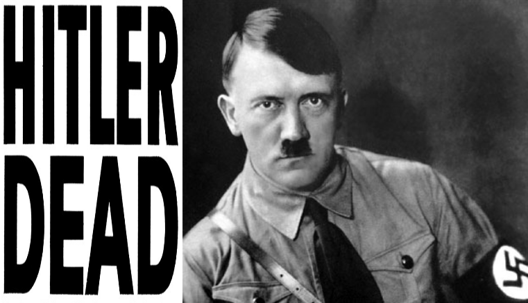 Sucesos que llevaron a la muerte de Adolf Hitler