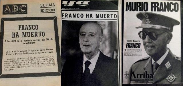 La Muerte de Francoy el rescate de la democracia